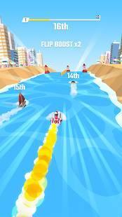 Androidアプリ「Flippy Race」のスクリーンショット 1枚目