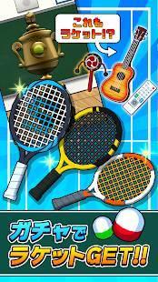 Androidアプリ「机でテニス」のスクリーンショット 3枚目