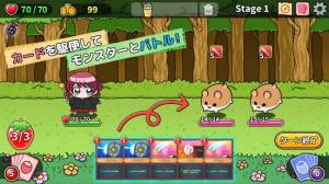 Androidアプリ「魔法少女マホのスイーツ争奪大作戦!~ビスケット男爵の野望~」のスクリーンショット 3枚目