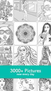 Androidアプリ「Paint.ly - 数字で塗り絵,ぬり絵 ゲーム」のスクリーンショット 4枚目