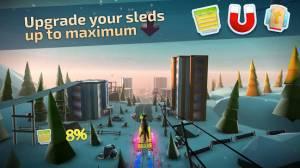 Androidアプリ「Animal Adventure: Downhill Rush」のスクリーンショット 3枚目