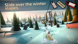 Androidアプリ「Animal Adventure: Downhill Rush」のスクリーンショット 1枚目