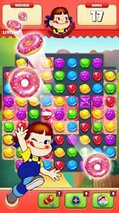 Androidアプリ「ミルキーマッチ:ペコちゃんパズルゲーム」のスクリーンショット 4枚目