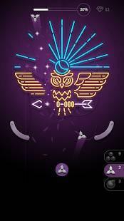 Androidアプリ「Hit the Light」のスクリーンショット 1枚目