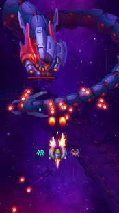Androidアプリ「Space Justice: シューティングゲーム , 空中戦」のスクリーンショット 4枚目