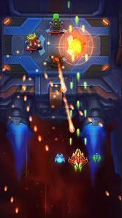Androidアプリ「スペースジャスティス: レトロ シューティングゲーム」のスクリーンショット 3枚目