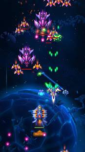 Androidアプリ「Space Justice: シューティングゲーム , 空中戦」のスクリーンショット 5枚目
