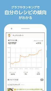 Androidアプリ「クックパッドMYキッチン - あなたの料理レシピを記録・管理」のスクリーンショット 4枚目