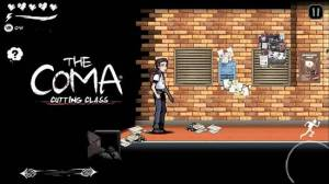 Androidアプリ「The Coma: Cutting Class」のスクリーンショット 1枚目