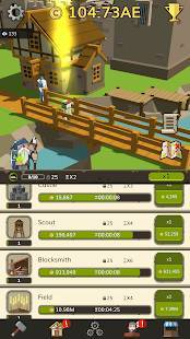 Androidアプリ「🏰 Idle Medieval Tycoon - Idle Clicker Tycoon Game」のスクリーンショット 3枚目