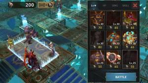 Androidアプリ「Dungeon Simulator: Strategy RPG」のスクリーンショット 2枚目