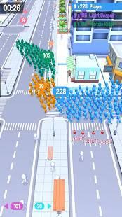 Androidアプリ「Crowd City」のスクリーンショット 1枚目