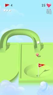 Androidアプリ「Pocket Mini Golf」のスクリーンショット 2枚目
