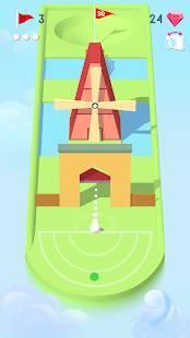 Androidアプリ「Pocket Mini Golf」のスクリーンショット 1枚目