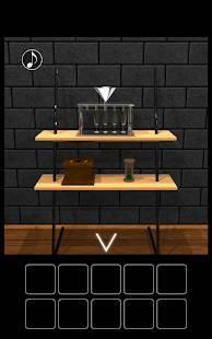 Androidアプリ「脱出ゲーム 水車のある庭からの脱出」のスクリーンショット 2枚目