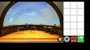 Androidアプリ「脱出ゲーム ハッピーエスケープ(最上階の部屋)」のスクリーンショット 4枚目