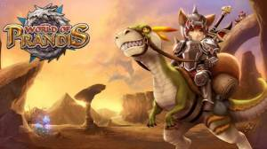 Androidアプリ「World of Prandis (Non-Auto Real MMORPG)」のスクリーンショット 1枚目