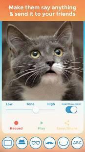 Androidアプリ「私のお話ペット」のスクリーンショット 2枚目