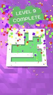 Androidアプリ「Roller Splat!」のスクリーンショット 5枚目