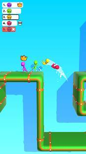 Androidアプリ「Run Race 3D - 3D 競走」のスクリーンショット 2枚目