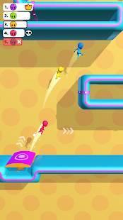 Androidアプリ「Run Race 3D - 3D 競走」のスクリーンショット 1枚目