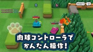 Androidアプリ「ねこ戦車」のスクリーンショット 1枚目