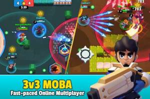 Androidアプリ「Heroes Strike - 3v3 Moba Brawl Shooting」のスクリーンショット 1枚目