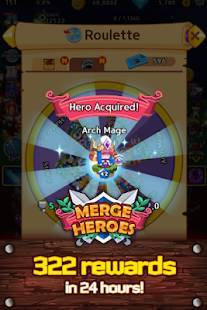 Androidアプリ「Merge Heroes Frontier: Casual RPG Online」のスクリーンショット 5枚目