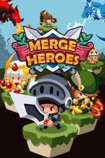 Androidアプリ「Merge Heroes Frontier: Casual RPG Online」のスクリーンショット 1枚目