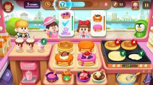 Androidアプリ「LINE シェフ 〜ブラウンと楽しくお料理!かわいいクッキング〜」のスクリーンショット 1枚目