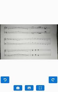 Androidアプリ「Music Score Reader」のスクリーンショット 2枚目