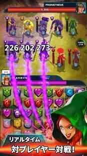 Androidアプリ「決闘パズルウォーズ (Duel Puzzle Wars PvP)」のスクリーンショット 1枚目