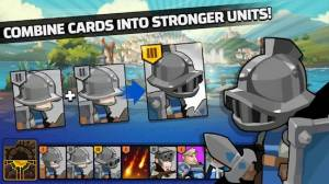 Androidアプリ「The Wonder Stone: Card Merge Defense Strategy Game」のスクリーンショット 2枚目