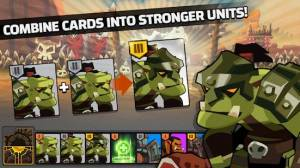 Androidアプリ「The Wonder Stone: Card Merge Defense Strategy Game」のスクリーンショット 3枚目