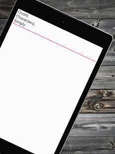 Androidアプリ「文字数メモ (文字数カウント付きメモ帳)」のスクリーンショット 4枚目