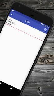 Androidアプリ「文字数メモ (文字数カウント付きメモ帳)」のスクリーンショット 2枚目