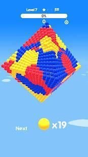 Androidアプリ「Ball Paint」のスクリーンショット 1枚目