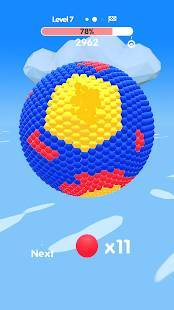 Androidアプリ「Ball Paint」のスクリーンショット 5枚目