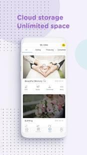 Androidアプリ「LightMV - ビデオエディター」のスクリーンショット 5枚目