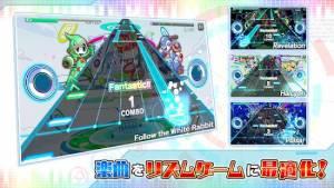 Androidアプリ「Sonic Beat feat. クラッシュフィーバー」のスクリーンショット 5枚目
