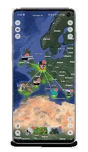 Androidアプリ「Photo Map」のスクリーンショット 1枚目