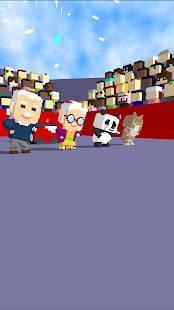 Androidアプリ「みんなでカート - ハマり系簡単カートゲーム」のスクリーンショット 1枚目