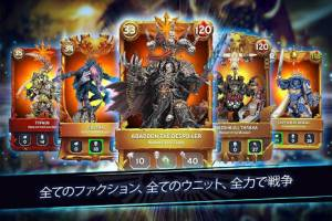 Androidアプリ「Warhammer Combat Cards - 40K Edition Card Battle」のスクリーンショット 2枚目