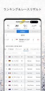 Androidアプリ「Motorsport.com」のスクリーンショット 4枚目