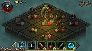 Androidアプリ「Dungeon of Dark」のスクリーンショット 2枚目