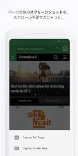Androidアプリ「Vivaldi Android β版」のスクリーンショット 4枚目
