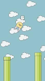 Androidアプリ「Chick Jump」のスクリーンショット 2枚目
