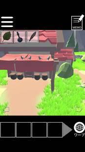 Androidアプリ「脱出(?)ゲーム:RPGの最初の村の準備をしよう~かわいい簡単無料脱出ゲーム~」のスクリーンショット 2枚目