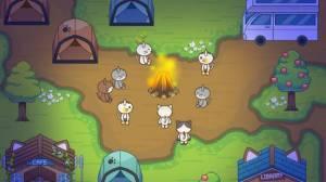 Androidアプリ「ねこの森 - キャンプ場物語」のスクリーンショット 5枚目