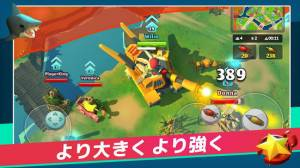 Androidアプリ「PvPets: Tank Battle Royale」のスクリーンショット 2枚目